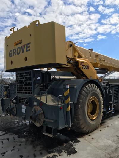 2011 Grove RT760E