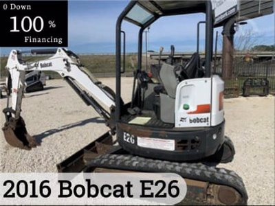 2016 Bobcat E26
