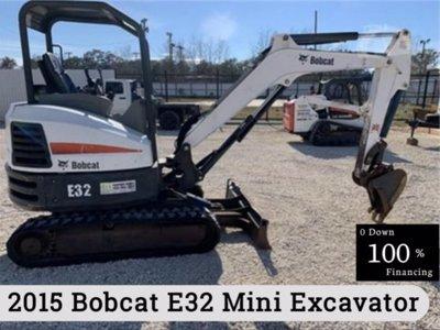 2015 Bobcat E32