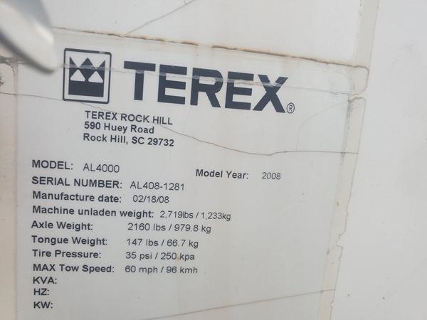 2008 Terex AL4060D4MH
